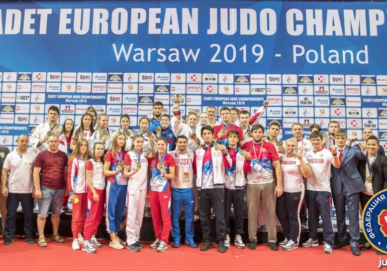 Юношеское Первенство Европы в Варшаве. Командная «бронза».