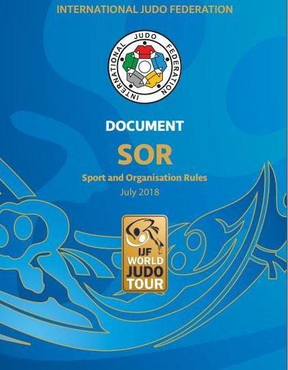 Спортивно-Организационные правила Международной Федерации Дзюдо 2018